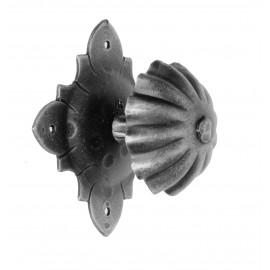 Kovaná koule na rozetě model 524C