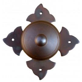 Kovaná koule na rozetě model 1704