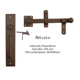 Kovaná závora s táhlem model 1710