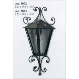 Kovaná nástěnná lucerna model 3072