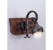 Kované nástěnné světlo model 3099