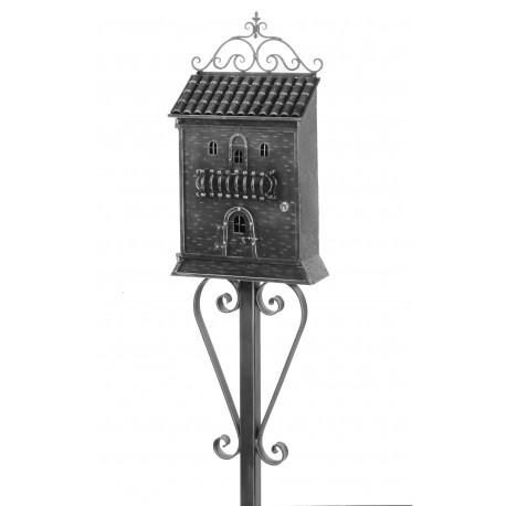 Kovaná poštovní schránka model 869 samostatně stojící