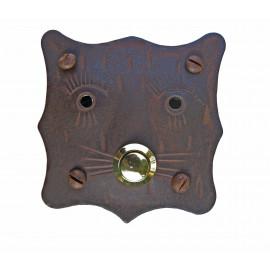 Kovaná krytka na zvonek model 244