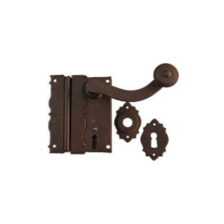 Kovaný zámek model 5850DEK - komplet art. 1906/35