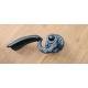 Kovaná klika model 511, antická černá, bez zpětné pružiny