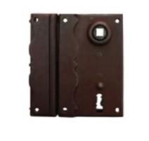 Kovaný dekorativní zámek na dveře/vrata/bránu model 5850