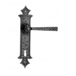 Kovaná klika na dveře model 501