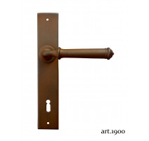 Kovaná klika na dveře model 1900