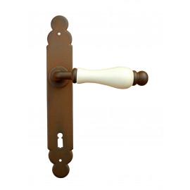 Kovaná klika na dveře model 1-09