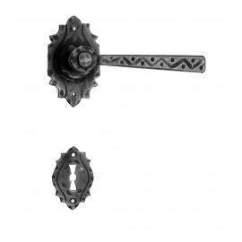 Kovaná klika ke dveřím model 17