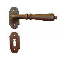 Kovaná klika ke dveřím model 2698