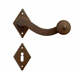 Kovaná klika ke dveřím model 4-43
