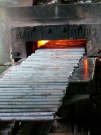 Ukázka výroby kovaného kování