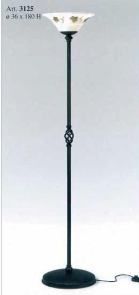 Kovaná samostatně stojící lampa model 3125