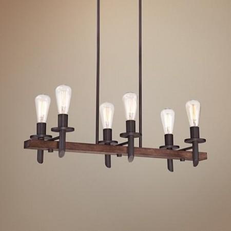 Kovaný lustr do obývacího pokoje / jídelny materiálmaClear 4/6 žárovkový