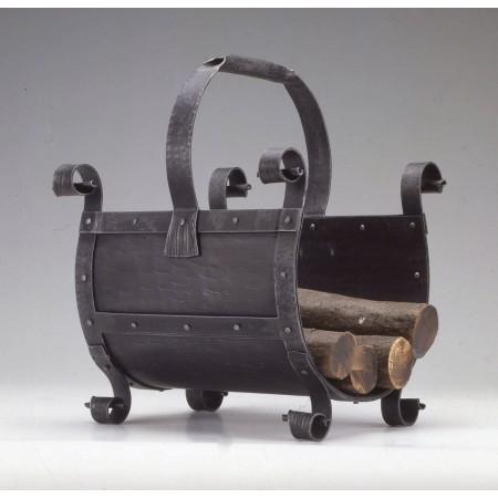 Kovaný koš na dřevo ke krbu model 3011 SKLADEM